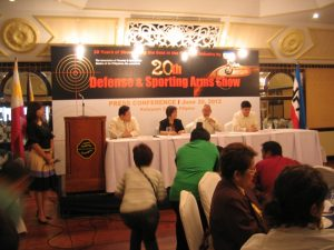 AFAD Press Conference for the 20th Defense and Sporting Arms Show.