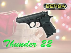 Gun store in Metro Manila, Philippines. Licensed Firearms and Ammunition dealer in the Philippines. Guns for sale. Bersa Thunder 22 Pistol.