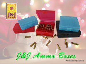 Gun store in Metro Manila, Philippines. Licensed Firearms and Ammunition dealer in the Philippines. Guns for sale. J&J Ammo boxes.