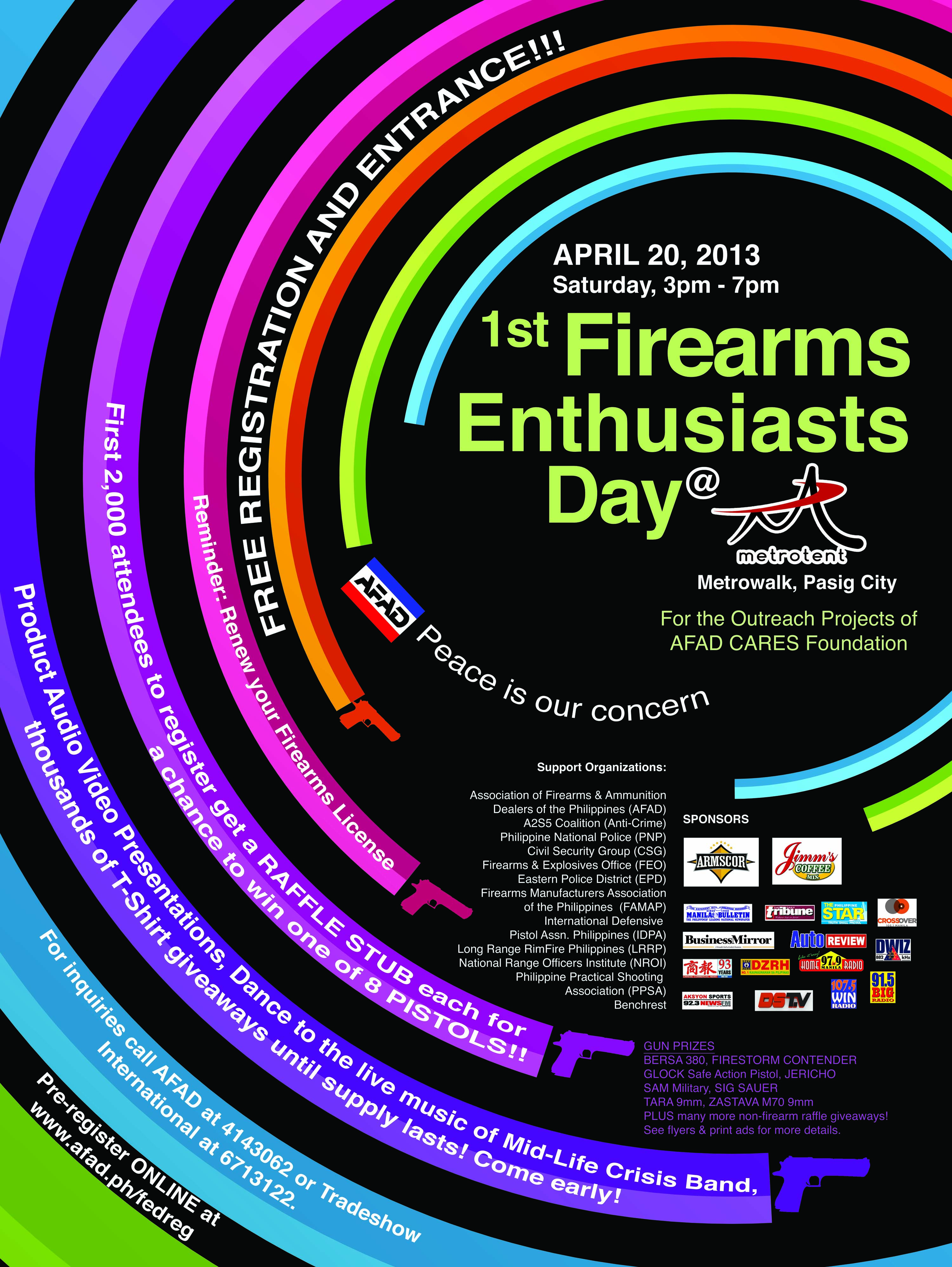 AFAD's 1st Firearms Enthusiasts Day 2013