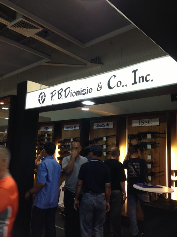 Visit PBDionisio Guns and Ammo booth at the Defense and Sporting Arms Show 2013 at SM Mega Mall B until July 18 to July 22, 2013.