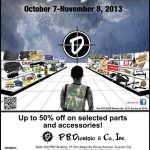 Rainy Days Sale at the PBDionisio Guns Store