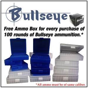 PBDionisio Gun Store All In Summer Sale: Bullseye ammo Free Calypso Ammo Box 6 x 6 inches