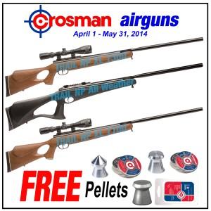 PBDionisio Gun Store All In Summer Sale: Crosman with Free Crosman Pellets
