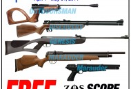 PBDionisio Gun Store All In Summer Sale: Crosman with Free Nantong Scopes