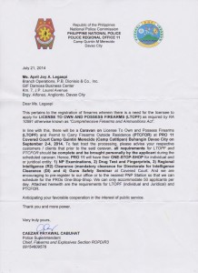 LTOPF Caravan Heads to Davao City