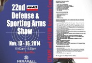 22nd Defense & Sporting Arms Show