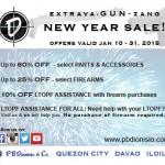 Extrava-GUN-zang New Year!