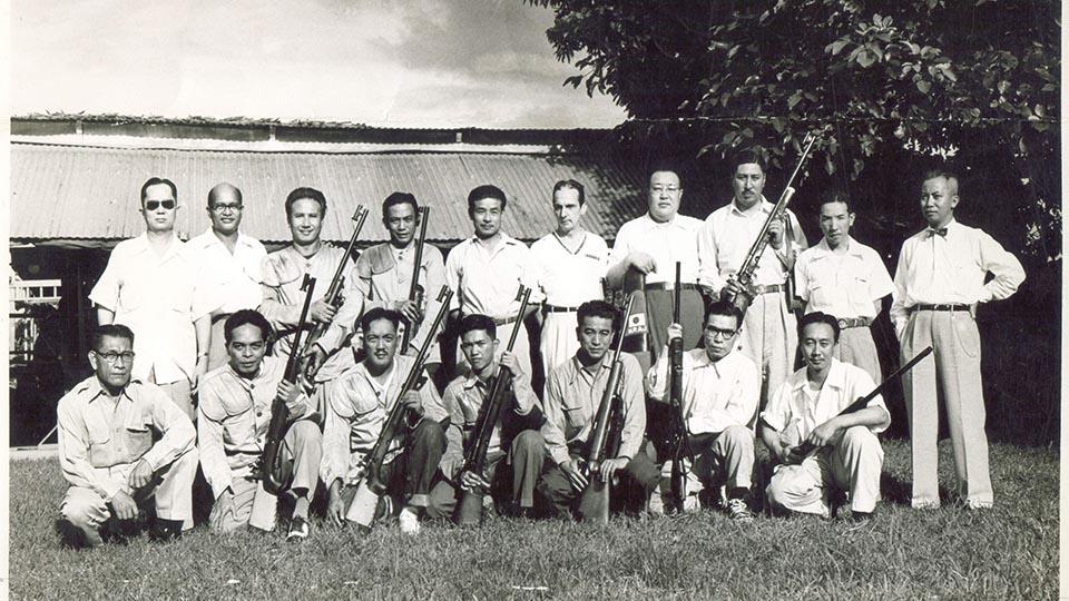 PB Dionisio w Philippine Army circa 1946