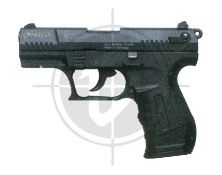 Gun store in Metro Manila, Philippines. Licensed Firearms and Ammunition dealer in the Philippines. Walther P22 Pistol.