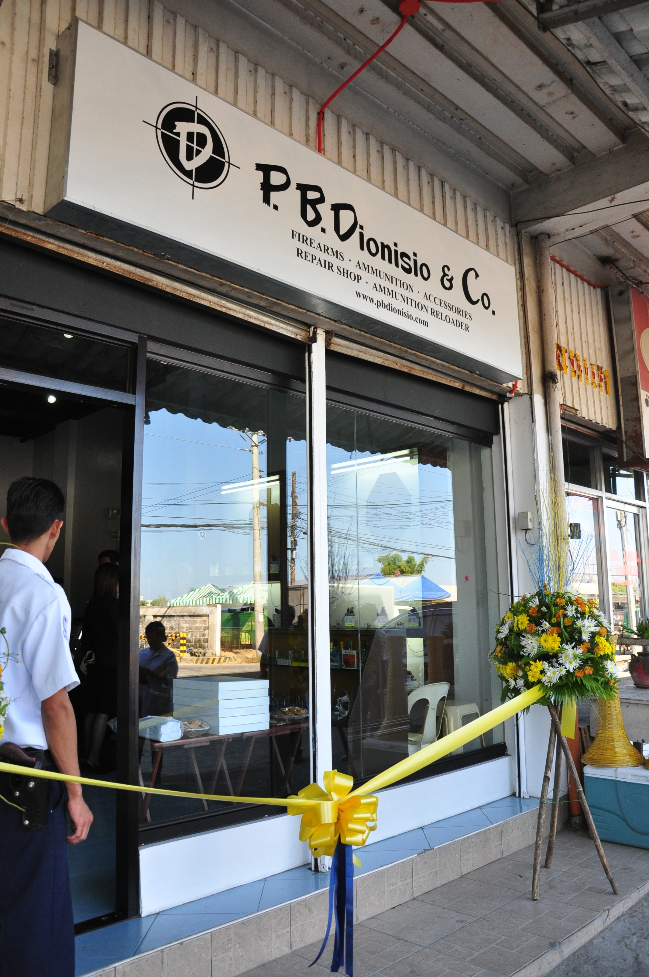 P.B.Dionisio & Co., Inc. Guns and Ammo Store in La Union, Philippines. Licensed Philippine Firearms Dealer.