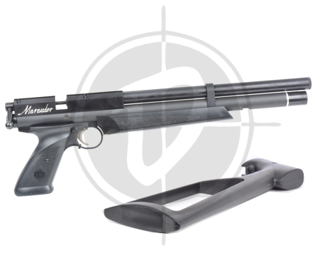 Crosman Marauder pistol with shoulder stock picture