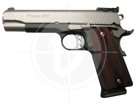 Gun store in Metro Manila, Philippines. Licensed Firearms and Ammunition dealer in the Philippines. Guns for sale. Buy the Sig Sauer 1911 Traditional Two-tone Match Elite Pistol.