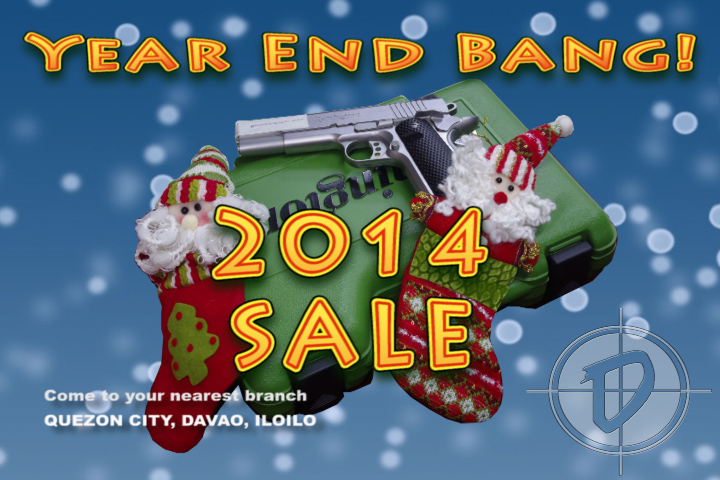 P.B.Dionisio Gun Store's Year End Bang Sale 2014