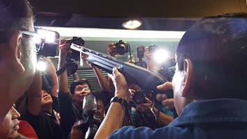 Cayetano & Duterte visit PB Dionisio