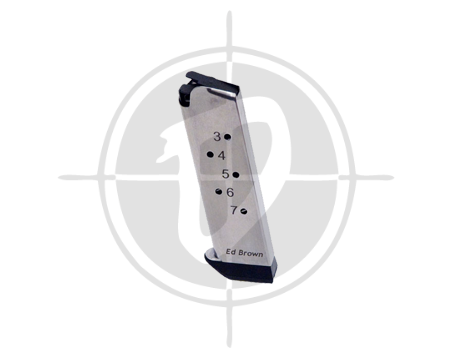 Ed Brown 847 7 rounder magazine stainless picture