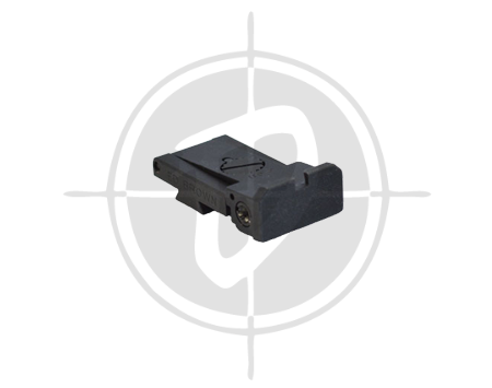 Ed Brown 954 adjustable rear sight picture
