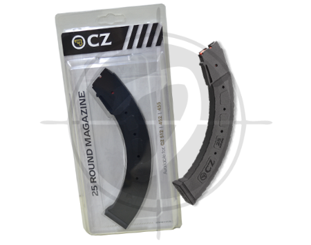 CZ 25 rounder magazine for 452 453 455 512 picture