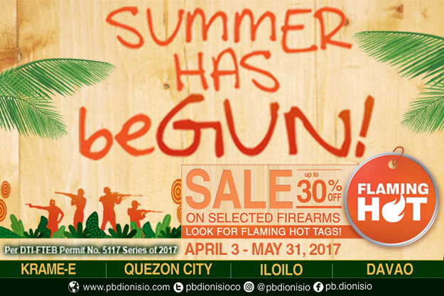 Summer has beGUN SALE poster