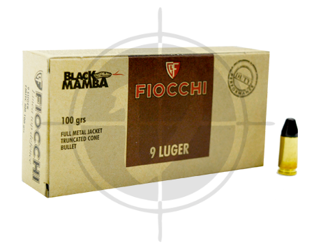 Fiocchi 9mm Duty Black Mamba picture