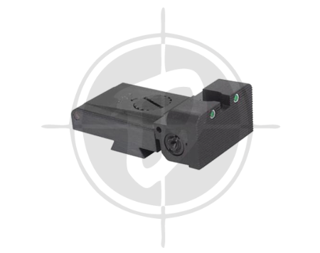 Ed Brown Rear Night sight picture