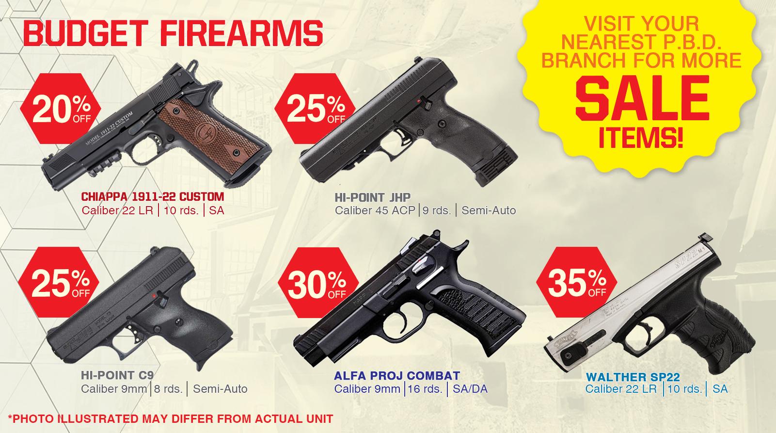 Budget Firearms – P B Dionisio & Co