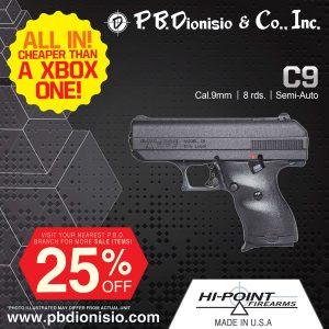 HI POINT C9 pistol picture