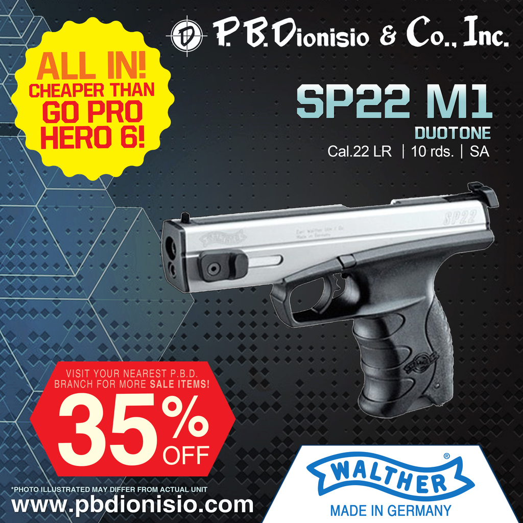 Walther SP22 M1 Pistol picture