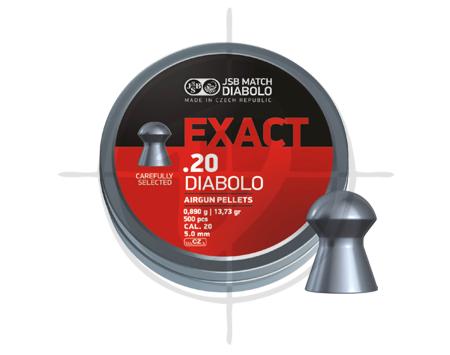 JSB Exact Diabolo cal20 13.73 grains pellets picture