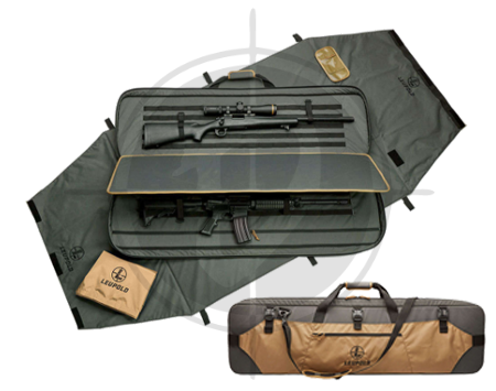 LEUPOLD Range-GO Bag 2-gun Gray-Tan picture