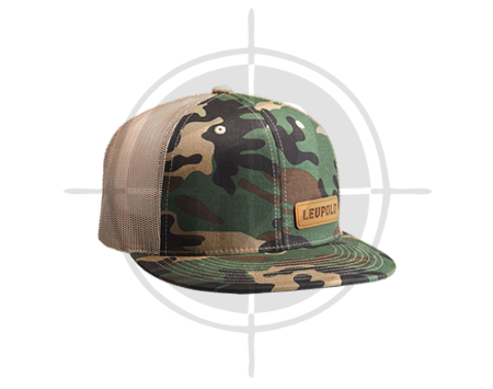 Leupold 112 Leather Patch Camo-khaki cap picture