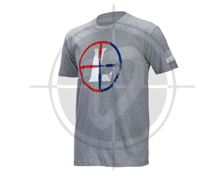 Leupold Mens USA Reticle Tee Gray Heather picture