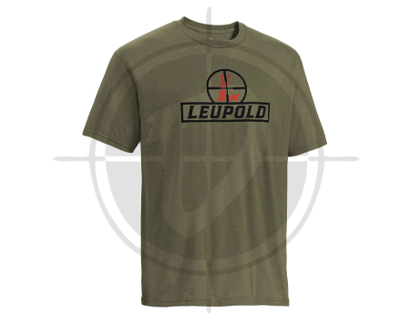 Leupold Youth Reticle Tee OD Green picture
