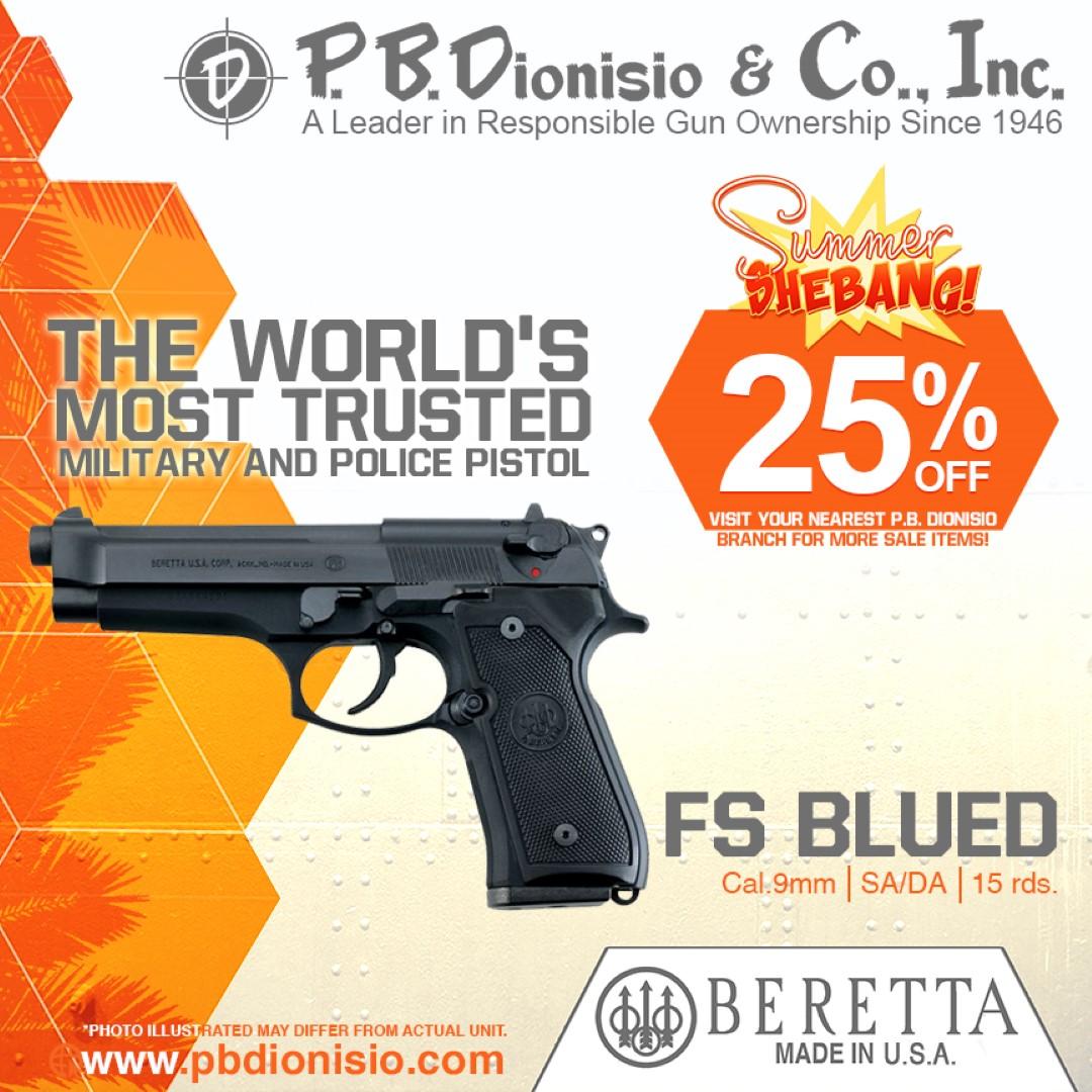 SUMMER SHEBANG-BERETTA 92FS pistol picture