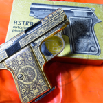 Astra Cub cal.25acp Damascene picture