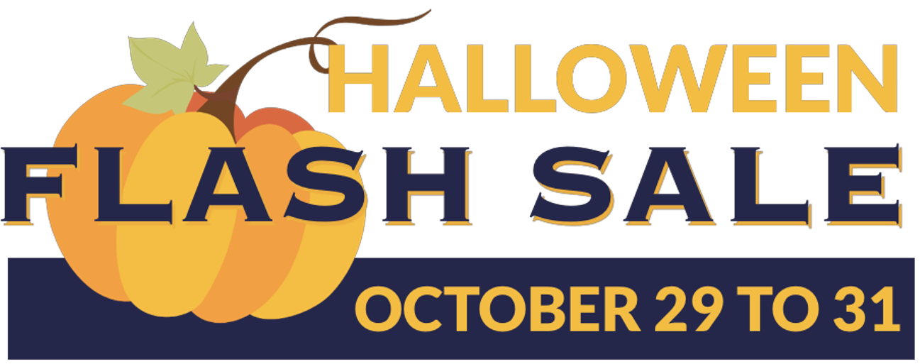 Halloween Flash Sale