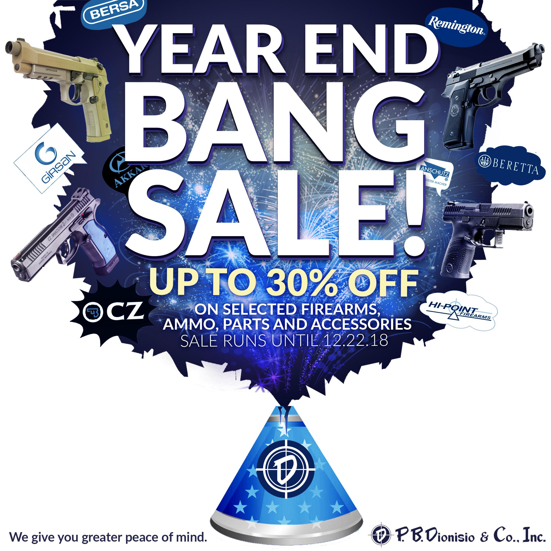 YEAR END BANG 2018