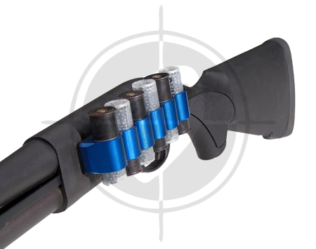 Mesa Tactical SureShell Aluminum Blue Carrier for Remington 870 6 Shell Shotgun 95010 picture