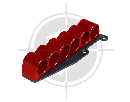 Mesa Tactical SureShell Aluminum Red Carrier for Remington 870 6 Shell Shotgun picture