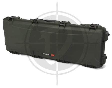 Nanuk Case 990 with foam Long Series Olive picture