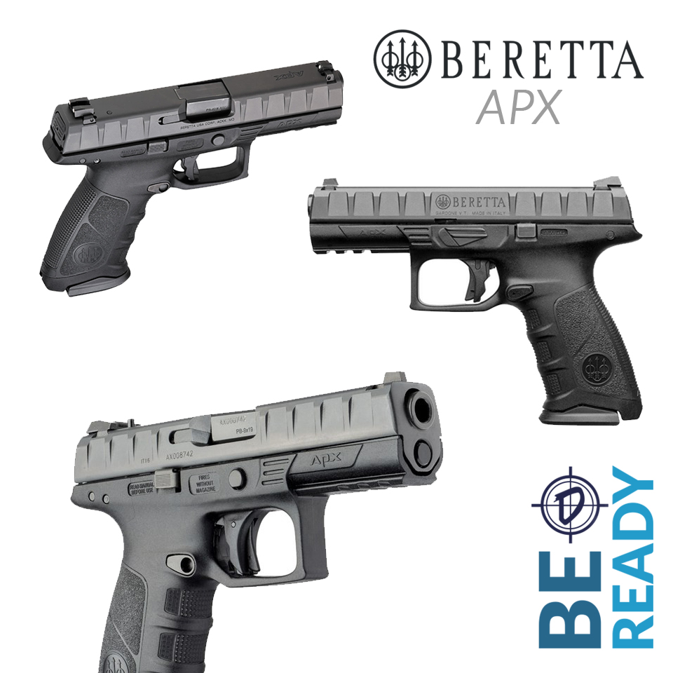 The Beretta APX is perfect for EDC.
