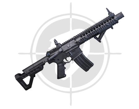 Crosman DPMS SBR Full Auto Rifle picture