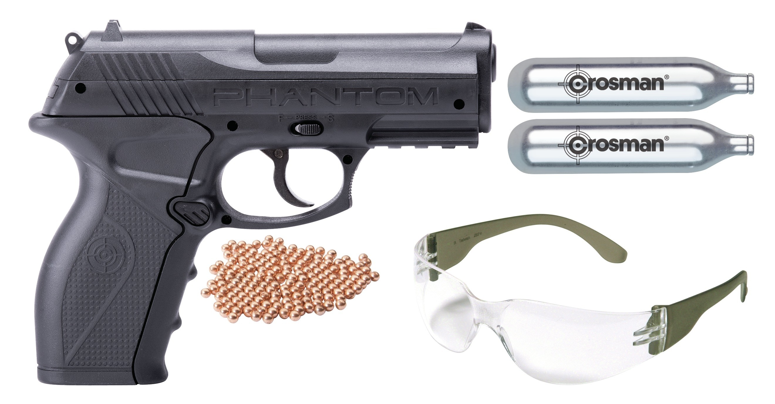 Crosman P10KT available from P.B.Dionisio & Co.