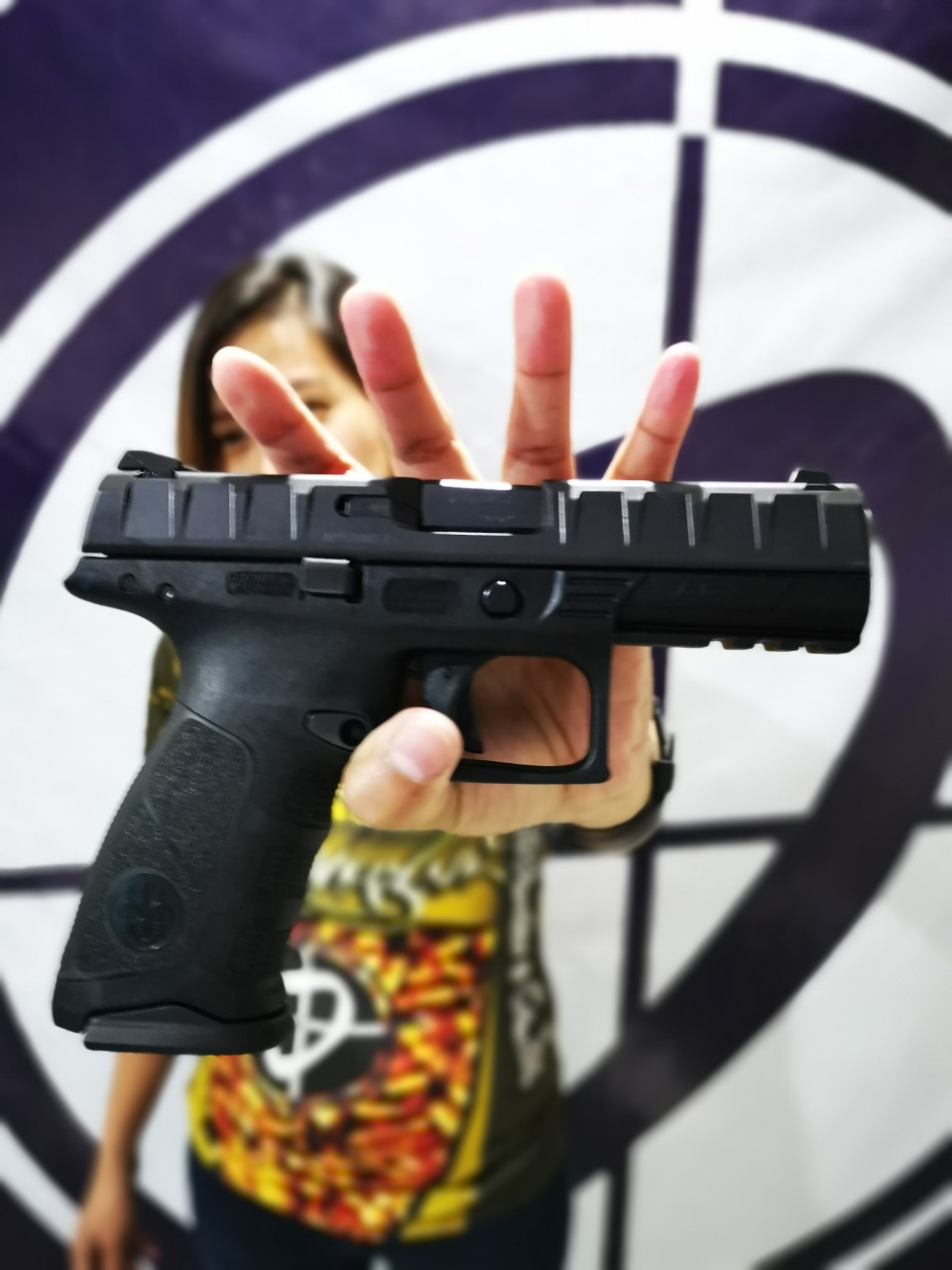 The Beretta APX is pefect for every day carry.  Available now at P.B.Dionisio & Co.