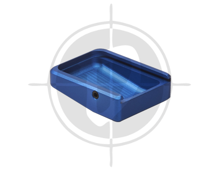 CZ Aluminum Base Plate for CZ 75 Tactical Sports Blue picture