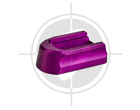 CZ Aluminum Magazine Pad 19 rds for Shadow 2 Purple picture