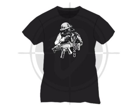 CZ Scorpion T-shirt Black Large picture