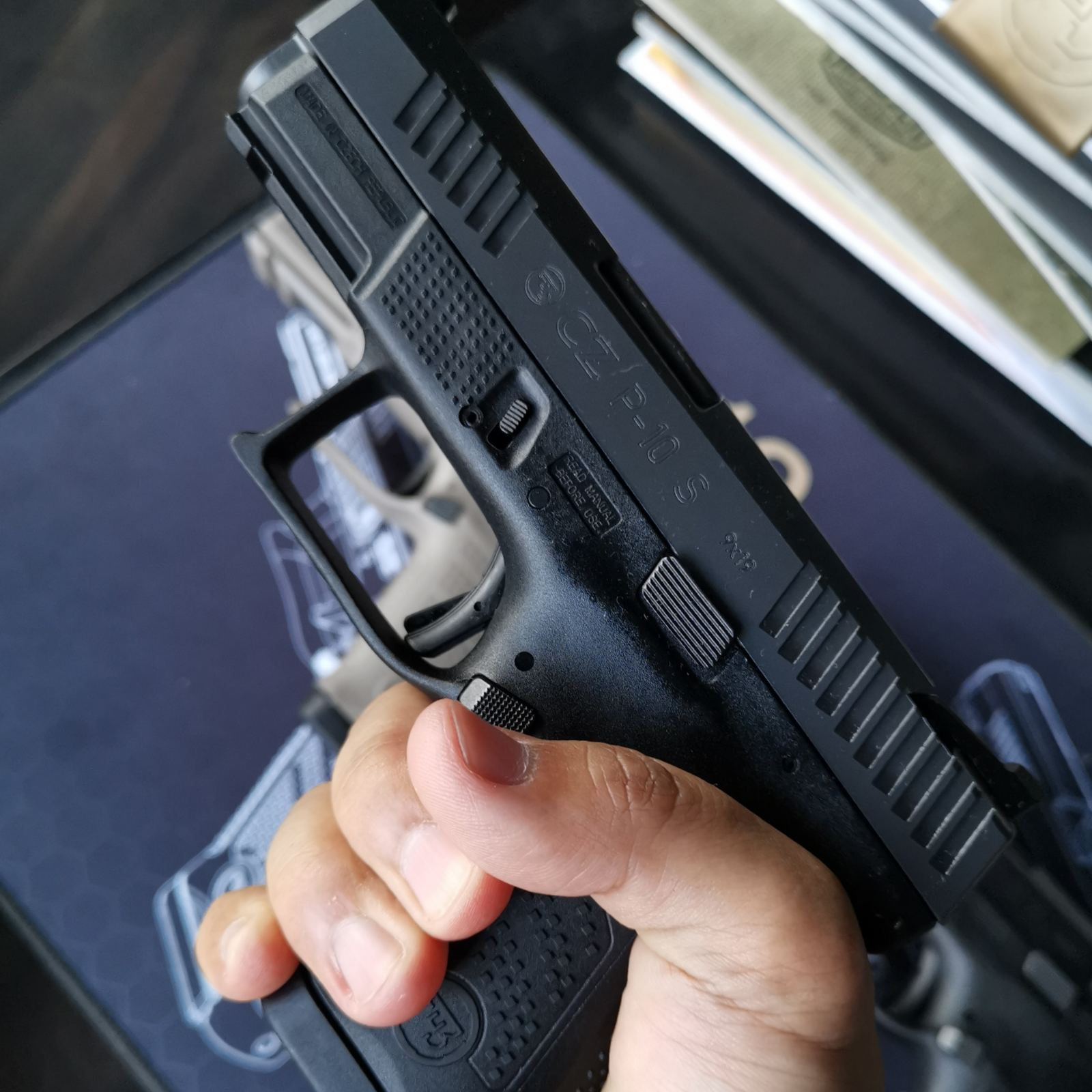 Join the P.B.Dionisio Gun Club to Win a CZ P10 S!