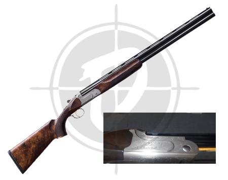 Akkar Churchill 206 Full Engrave 12 Gauge Shotgun picture