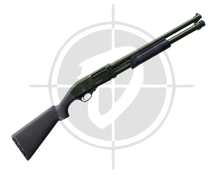 Akkar Karatay 612HD Cerakote OD Green 12 Gauge Shotgun picture